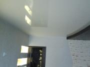 Натяжной потолок 2х цв.2х уровневый глянец