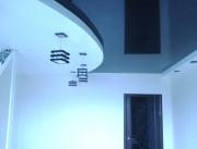 Натяжной потолок 2х цв.2х уровневый глянец+мат