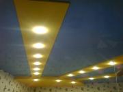 Натяжной потолок вариант подсветки