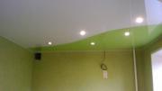 Натяжной потолок фактура глянцевая