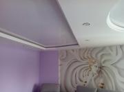 Потолок в геометрических фигурных вырезах