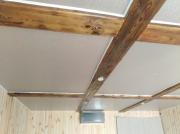 Натяжной потолок фактура. Весна беж