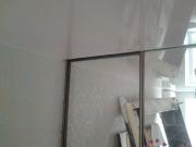 Натяжной потолок. Монтаж потолка с учетом разделительной стены.