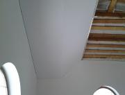 Натяжной потолок многоуровневый белый матовый, вид1