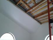 Натяжной потолок многоуровневый по-этапный монтаж