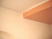 Натяжной потолок. Вставка ПВХ между потолком и стеной (не нужен карниз)