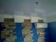 Натяжной потолок белый глянцевый