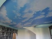 Небо фотопечать матовый ПВХ