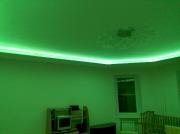 Натяжной потолок ПВХ с подсветкой